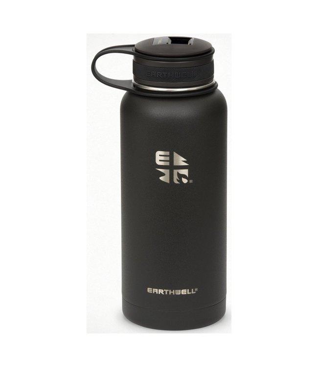 Eearthwell Earthwell Vacuum Bottle 32oz w/Volcanic Black Kewler Opener Cap