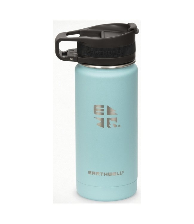 Eearthwell Earthwell Vacuum Bottle 16oz w/Roaster Loop Cap