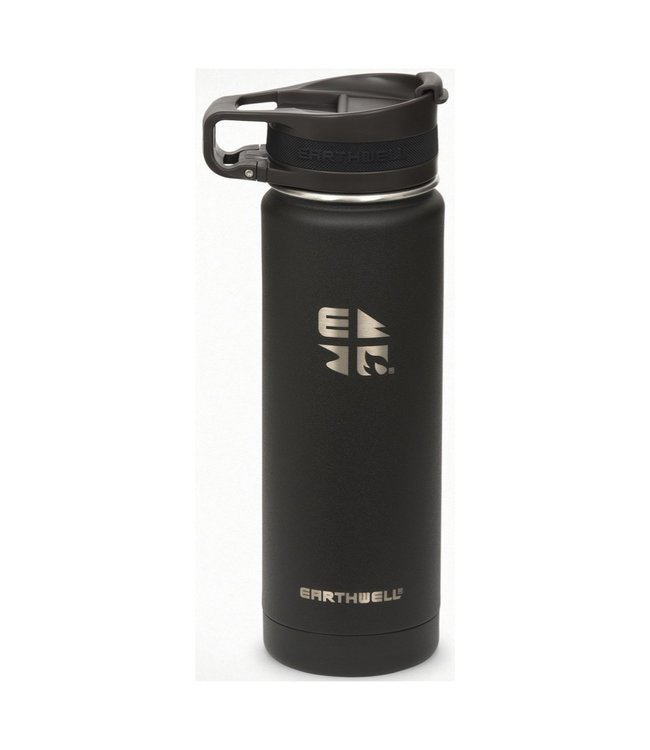 Earthwell Earthwell Vacuum Bottle 20oz w/Roaster Loop Cap