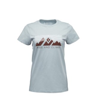 Black Diamond Black Diamond Women's Short Sleeve Rise And Climb Tee