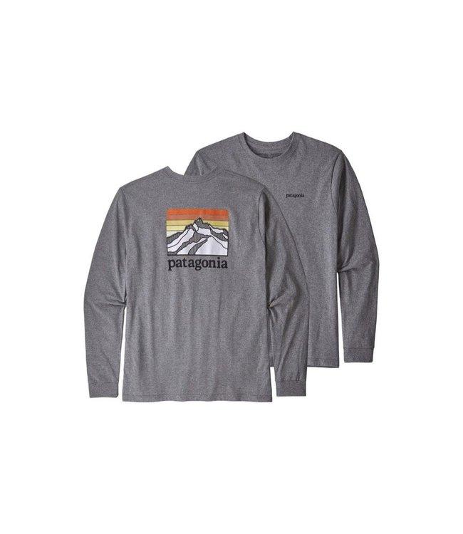 Patagonia Patagonia Men's Long Sleeve Line Logo Ridge Responsibili-Tee