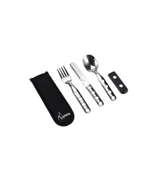 Laken Laken Stainless Cultery 3 pcs w/Neoprene Cover