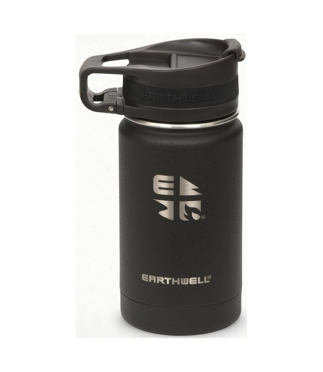 Earthwell Earthwell Vacuum Bottle 12oz w/Roaster Loop Cap