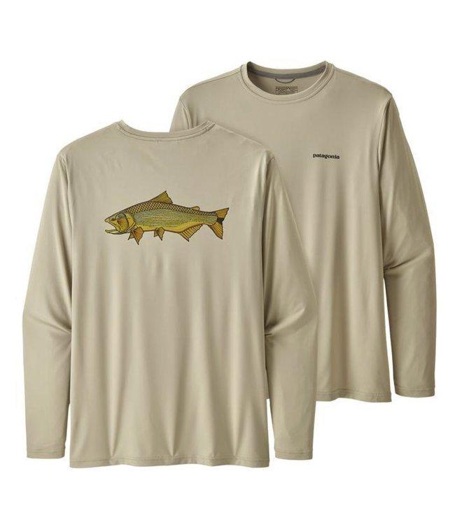 Patagonia Patagonia Men's Long Sleeve Capilene Cool Daily Fish Graphic Shirt