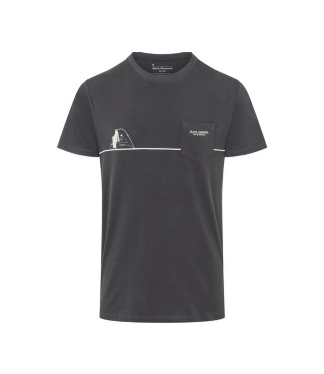 Black Diamond Black Diamond Men's Short Sleeve Half Dome Pocket Tee