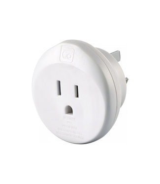 GO travel Go Travel USA-AUS/China Adaptor