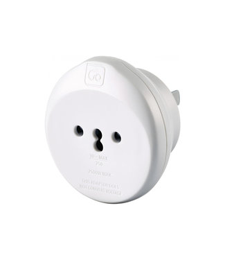 GO travel Go Travel Swiss-USA Adaptor
