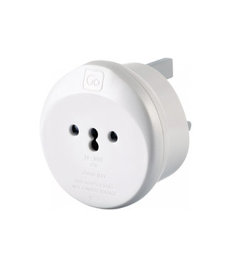 GO travel Go Travel Swiss-UK Adaptor