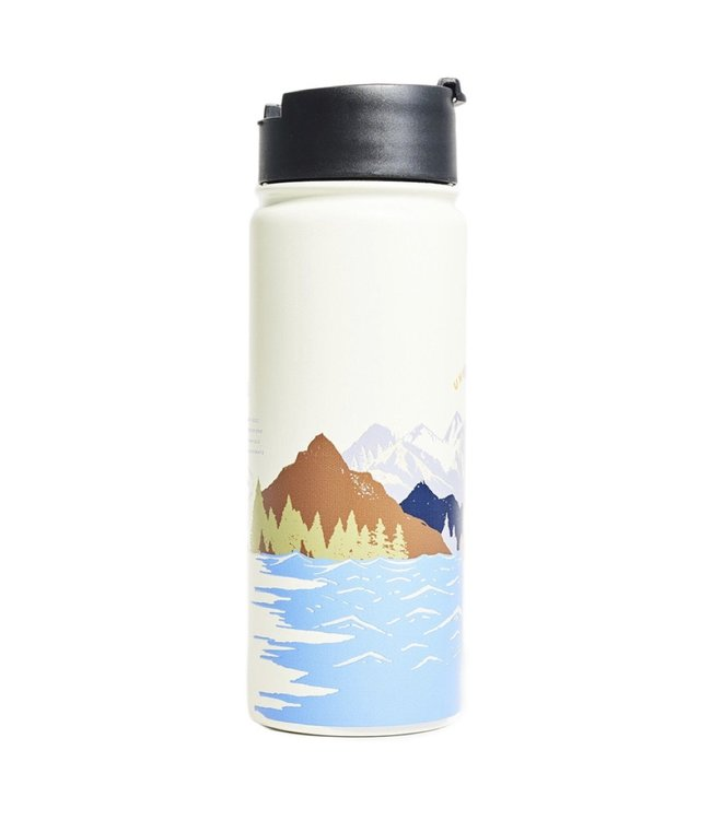 United By Blue United By Blue Insulated Stainless Steel Travel Bottle 18oz