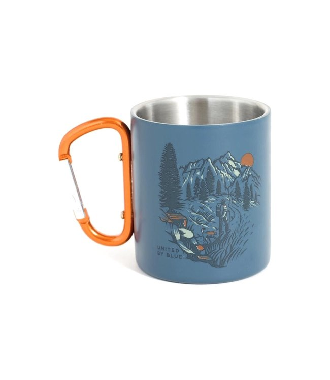 United By Blue United By Blue Insulated Stainless Steel Carabiner Cup 10oz