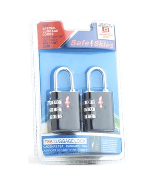 Safe Skies SafeSkies Aero Lock 3 Dial Double Set