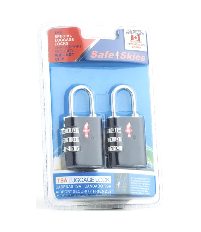 Safe Skies Safe Skies Aero Lock 3 Dial Double Set