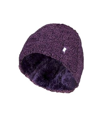 Heat Holders Heat Holders Women's Cable Turnover Hat