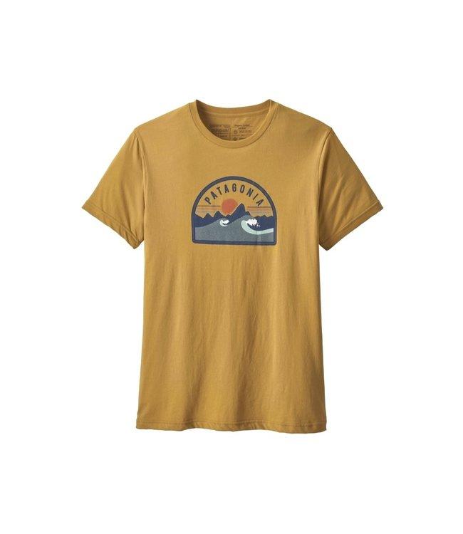 Patagonia Patagonia Men's Boardie Badge Organic T-Shirt