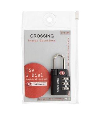 Crossing TSA 3 Dial Combo Lock