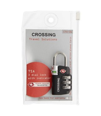 Crossing TSA 3 Dial Lock With Indicator