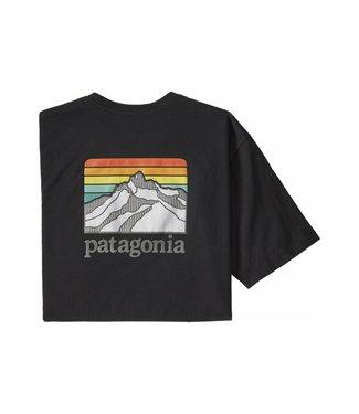 Patagonia Patagonia Men's Line Logo Ridge Pocket Responsibili-Tee