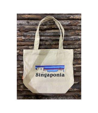 Singaponia Logo Cotton Tote Bag