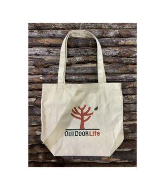 Outdoor Life Logo Cotton Tote Bag