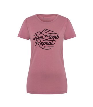 Black Diamond Black Diamond Women's Live Climb Repeat Tee