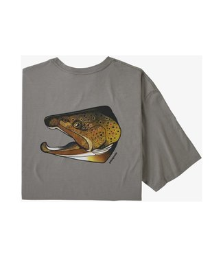 Patagonia Patagonia Men' Fish Noggins Organic T-Shirt
