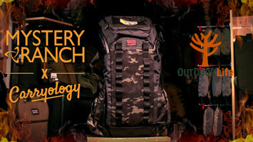 """Mystery Ranch x Carryology No Escape """" Dragon"""" pack first impression review."""