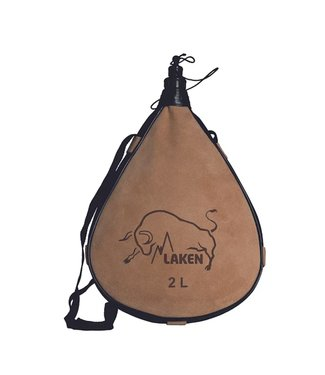 Laken Laken Leather Canteen 2.0L Straight Form
