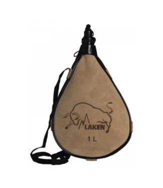 Laken Laken Leather Canteen 1.0L Straight Form