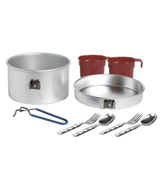 Laken Laken Aluminium Cooking Set 2Person 1.6L with 2 sets of Cutleries and Cups