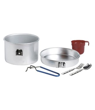 Laken Laken Aluminium Cooking Set 1Person, 1.25L with Cutlery and cup