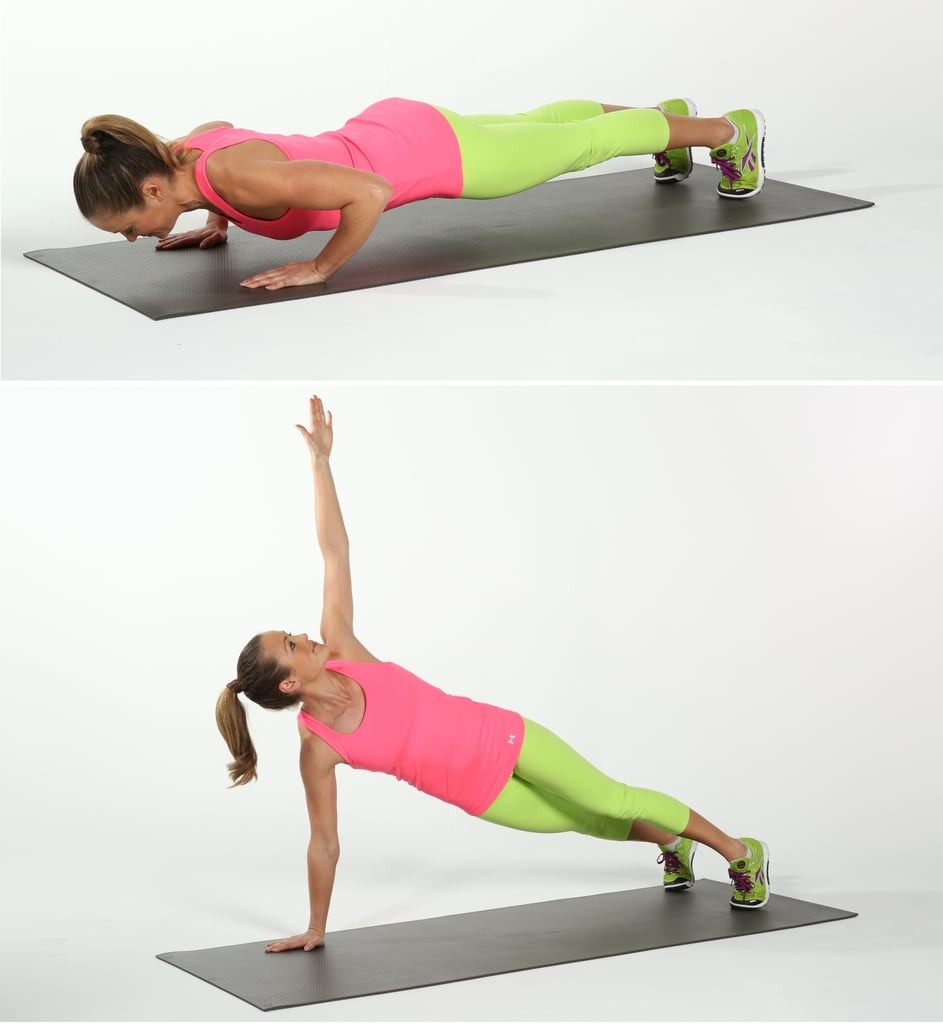 Push Up and Rotate