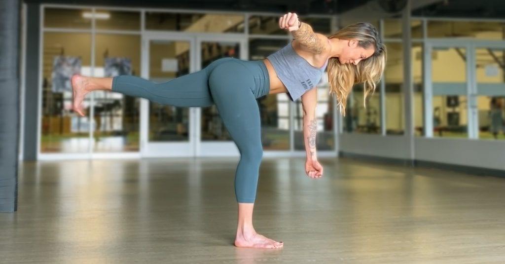 Single Leg Balance Touch