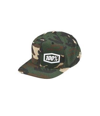100% 100 Percent 100% Snapback Hat