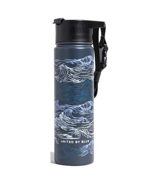 United By Blue United By Blue Waves Insulated Steel Bottle 22oz