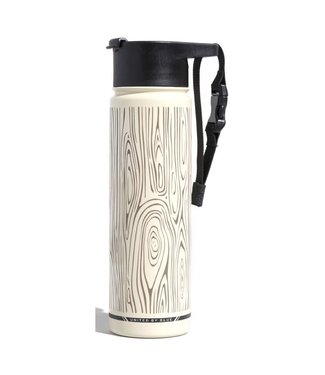 United By Blue United By Blue Woodgrain Insulated Steel Bottle 22oz
