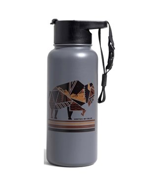 United By Blue United By Blue Geo Bison Insulated Steel Bottle 32oz