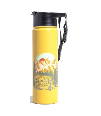 United By Blue United By Blue Pack It Out Insulated Steel Bottle 22oz
