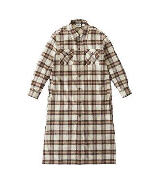 Gramicci Gramicci Flannel Shirt Dress