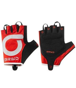 Briko Briko High Visibility Half Finger Cycling Gloves