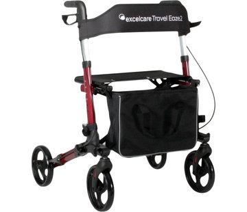 Excel ExcelCare Travel Eaze 2 Rood