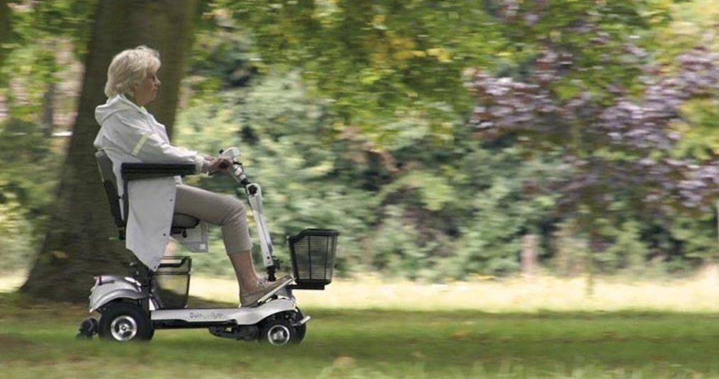 Wanneer mag ik een scootmobiel rijden?