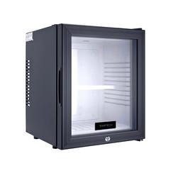 Minibar-koelkast - 1 glazen deur - geluidsarm