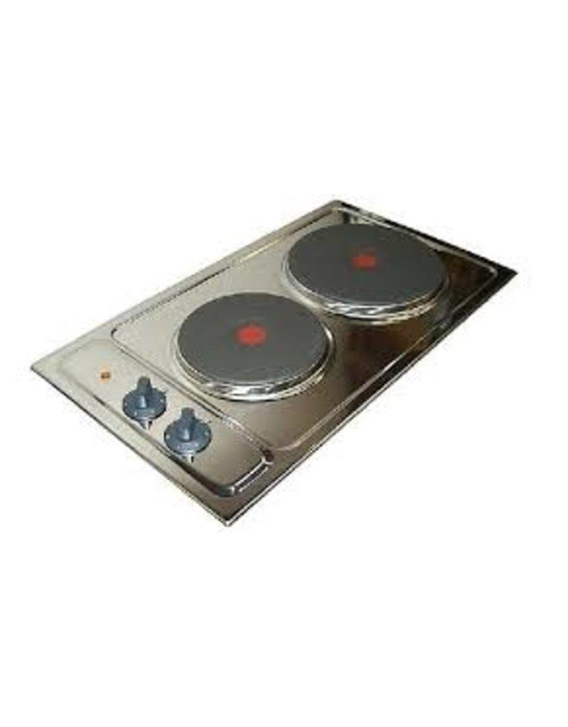 2-pit Elektrisch kookplaat  KIT-240