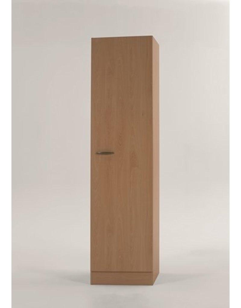 Hoge kast Klassiek 50 Beuken met planken 50cm x 206,8 H500-6-KIT-57