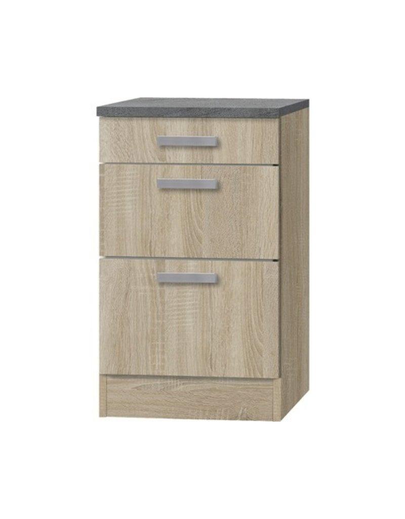 Kabinet Napels acacia-Decor (BxHxD) 50,0x84,8x60,0 cm`KIT-1129