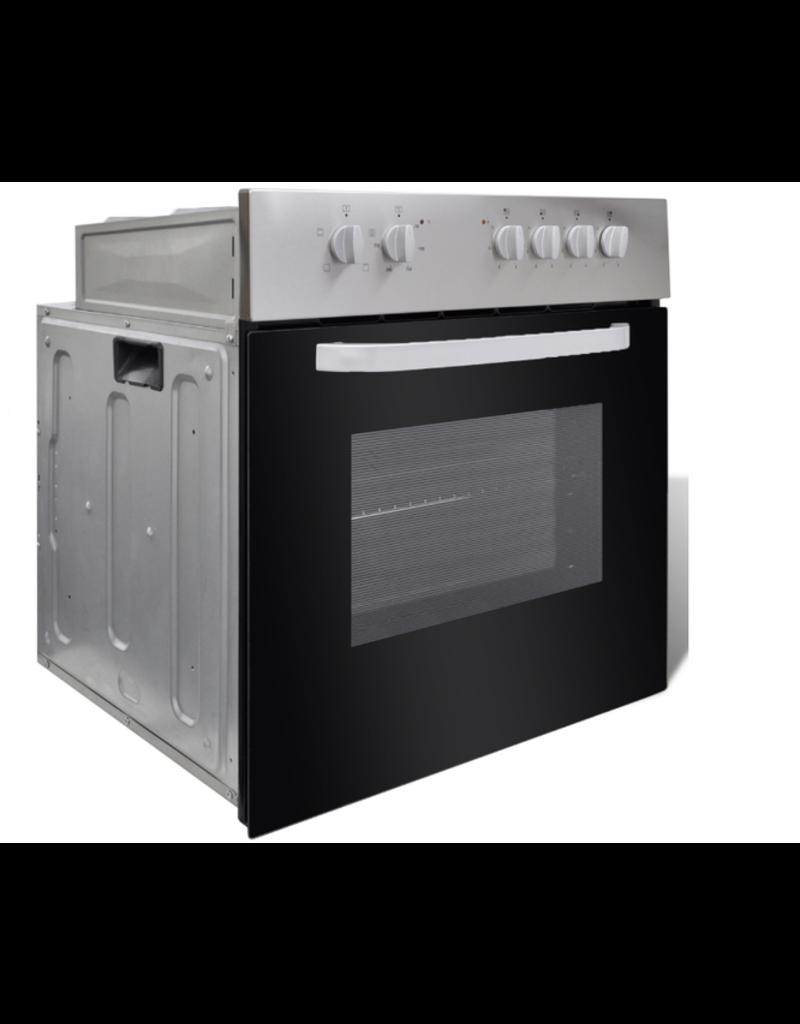 Keuken Zwart 220cm HUS-1098