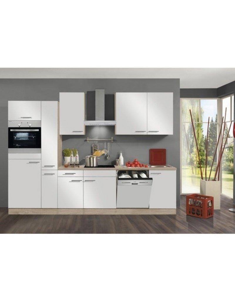 Keuken Dakar Wit 300cm KIT-21899