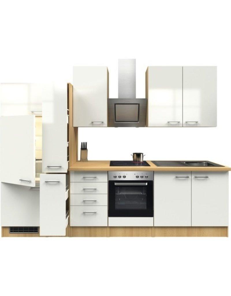 Keuken Pinto Wit 300cm KIT-21289
