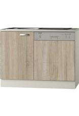 Keukenblok incl Vaatwasser 110cm  KIT-1165