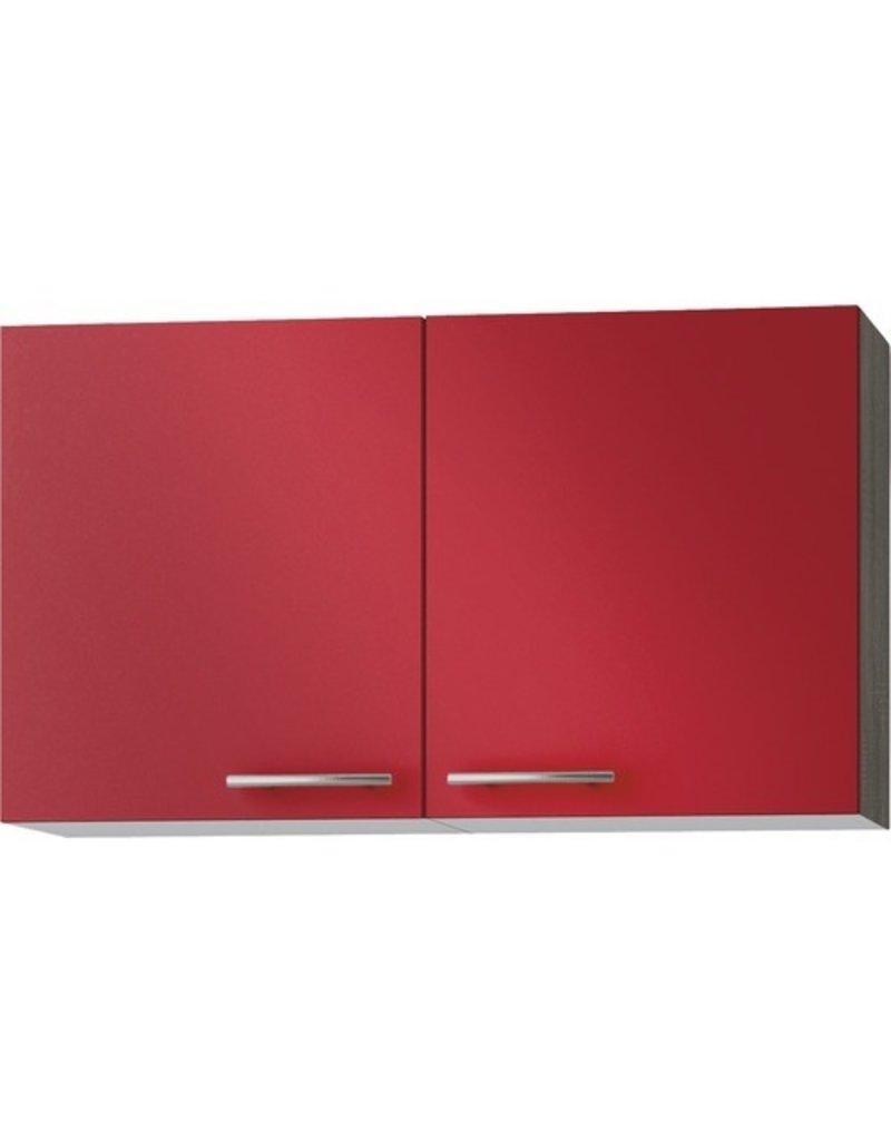 Wandkast Imola signaal rood (BxHxD) 100,0x57,6x34,6 cm KIT-52